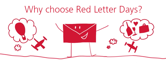 Experience Days: Why Choose Red Letter Days?