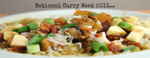 National Curry Week 2013