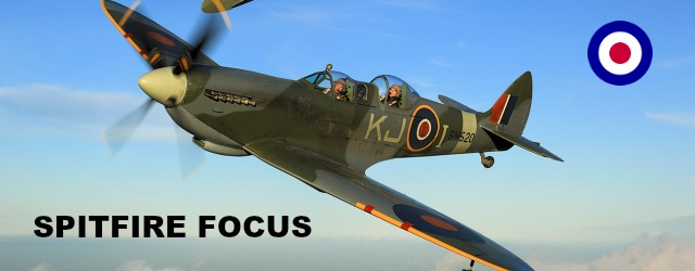 Flying a spitfire focus