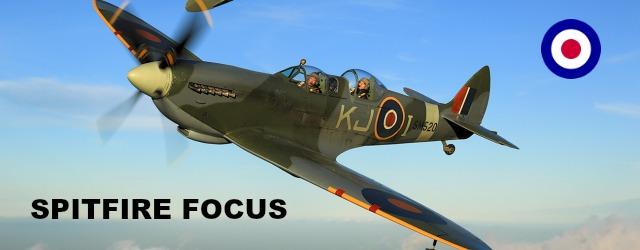 Flying a spitfire focus