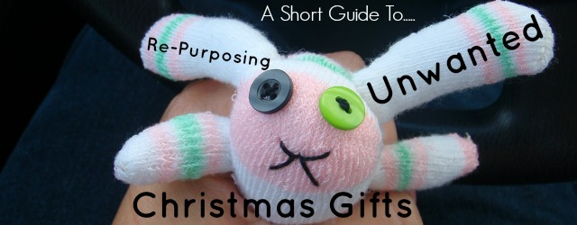 A guide to how to re-use and re-gift any unwanted Christmas gifts.