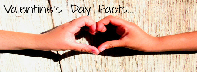 We have a look at some interesrting Valentine's day facts ahead of the big and often romantic day!