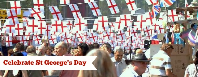 April 23rd is the annual celebration of England's patron saint - St George
