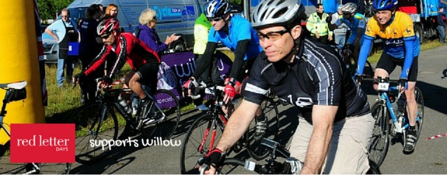 The Herts 100 bike ride which some of team RLD took part in for Willow Foundation.