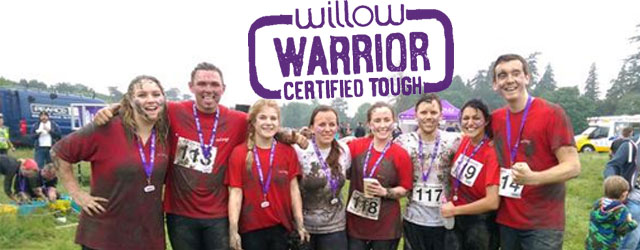 Team RLD compete in the Willow Warrior 2015 challenge.