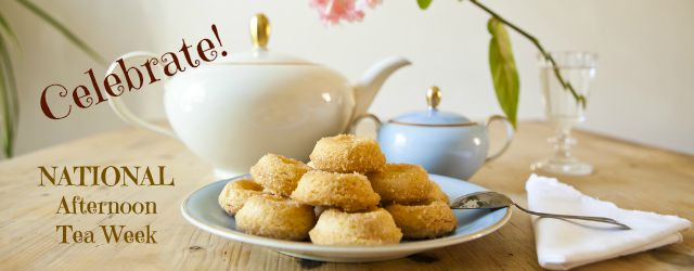 Celebrate national afternoon tea week
