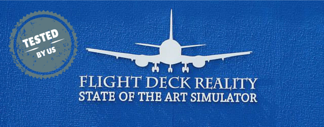 Flight deck reality flight simulator experience - tested by us