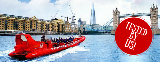 Tested by us - The Shard and rib experiences for views from water and from land.