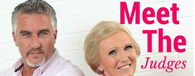 Mary Berry and Paul Hollywood - Bake Off Judges
