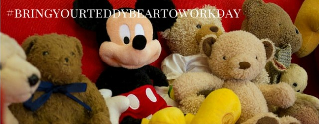 Bring your teddy bear to work day