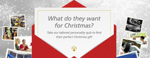 Christmas gift quiz