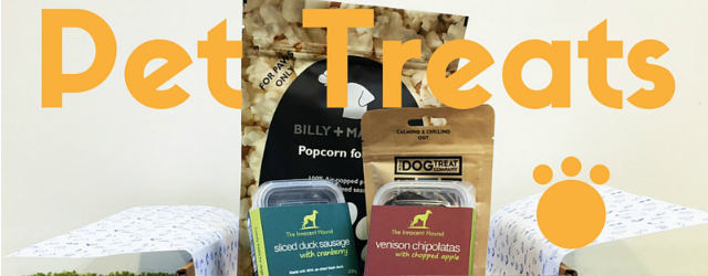 Pet treats and pet poisons