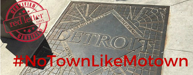 #NoTownLikeMotown