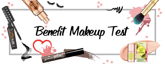 Benefit makeup test