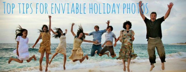 Top tips for great holiday photos