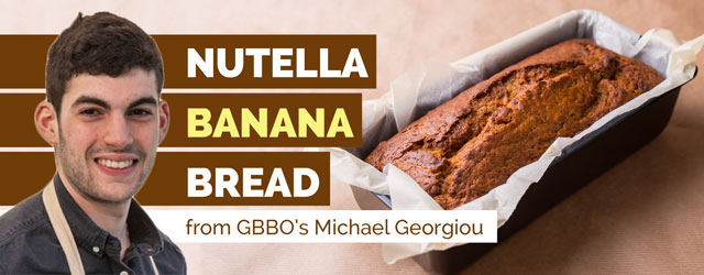GBBO's Michael Nutella Banana bread recipe