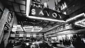 Savoy restaurant London
