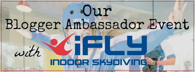 Red Letter Days iFly event title header