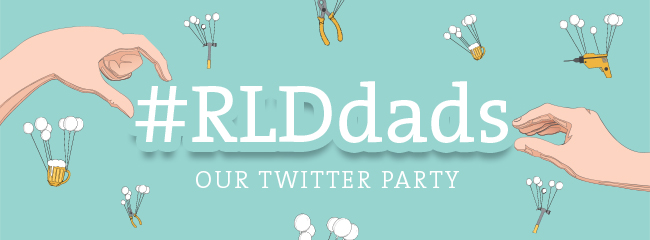 Title image: Our Father's Day twitter party