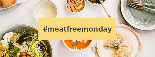 Meat Free Monday Vegetarian ideas