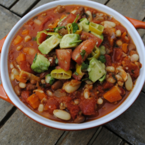 Bean chilli avocado recipes