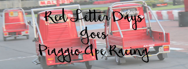 Piaggio Ape Racing featured image