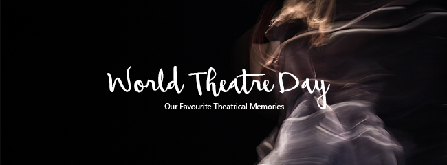 World Theatre Day title banner