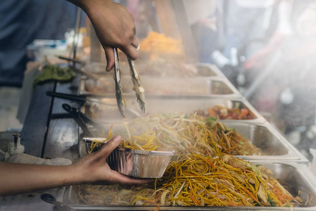 Stir Fry street vendor