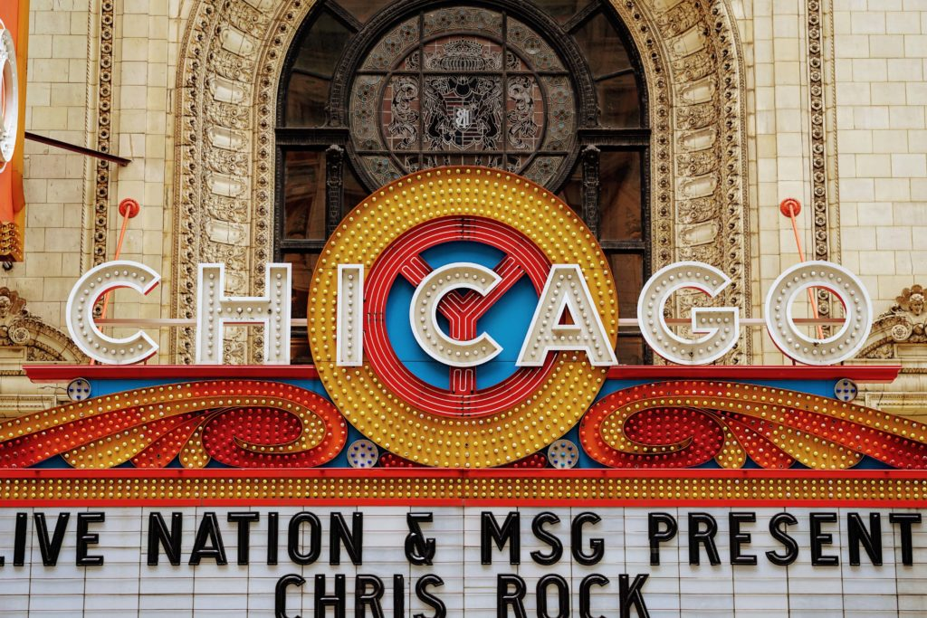 Chicago the Musical sign