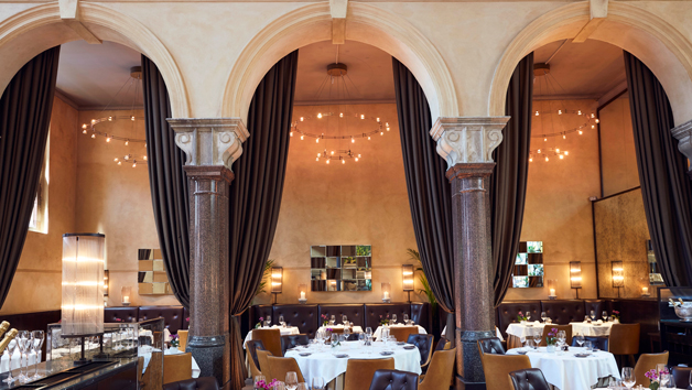 Interior of Michelin Starred Galvin La Chapelle