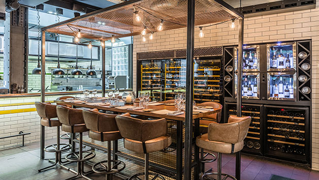 Kitchen Table for Four at Gordon Ramsay's Heddon Street Kitchen