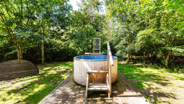 Glamping Break with Hot Tub and Fizz for Two at Woodland Escape