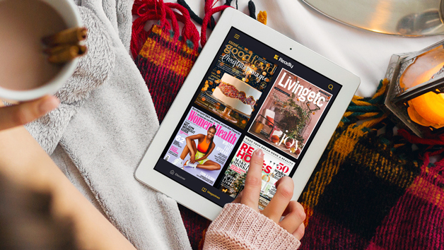 Three Month Subscription to Readly with Access to over 5,000 Magazines and Newspapers