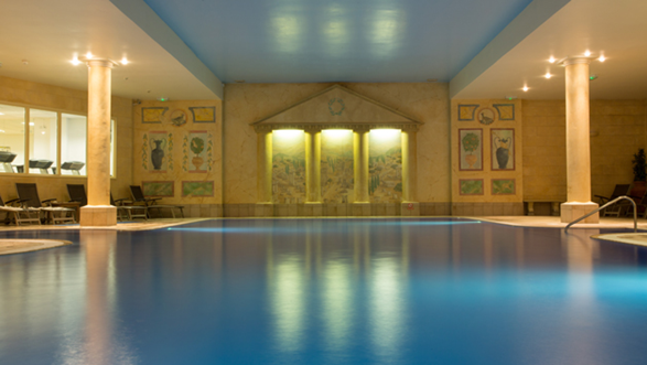 spa pool at Sketchley Grange Hotel